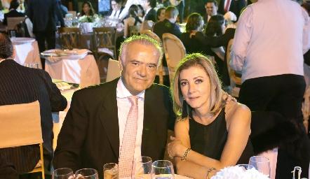 Manolo Lorca y Ana Meade de Lorca.