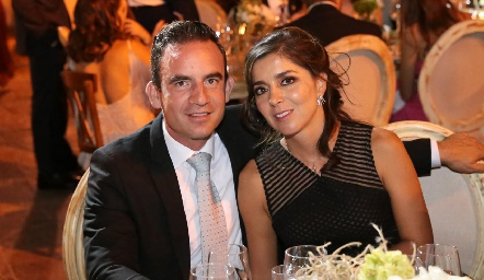 José Miguel Conde y Karla Sarquis.