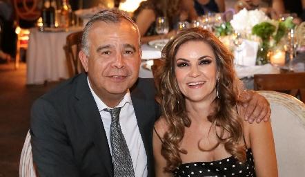 Carlos Fonseca y Margarita Sarquis.