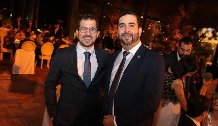 Antonio Musa y Fernando Domínguez.