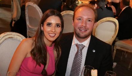 Valeria Alcalde y Armando de la Parra.