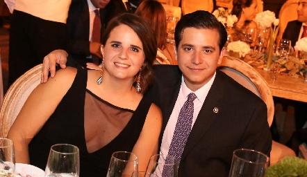 María Autrique y Mauricio Rodríguez.