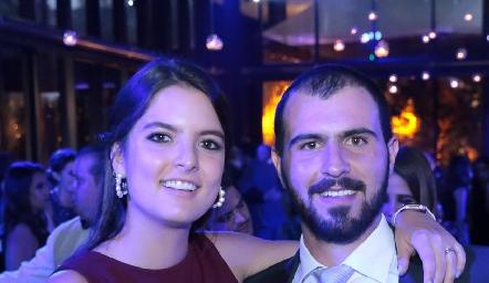 Daniela González y José Luis Hernández.