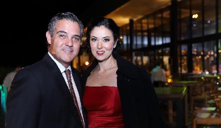 Rafael Díez y Beatriz Osidachi.