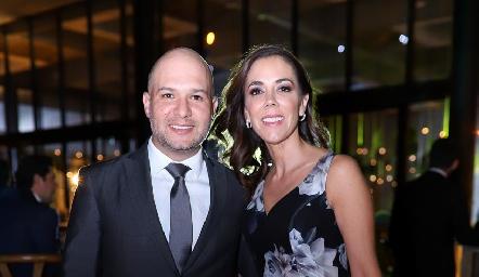 Eduardo Jaimes y Fabiola Quijano.