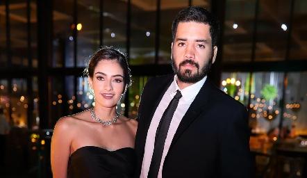 Montse Madrigal y Mauricio Zendejas.