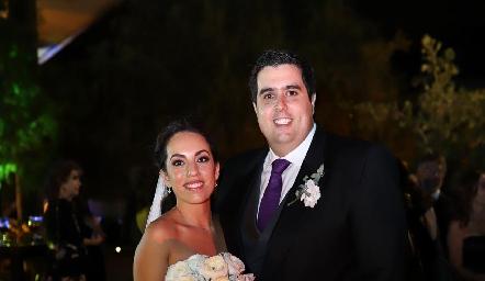 Alejandra Zepeda y José Carlos Mahbub ya son esposos.