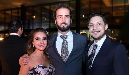Bety Medlich, José Güemes y Jaime Torres.
