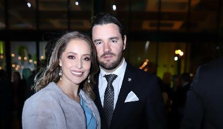 Laura Bravo y Luis Alberto Mahbub.