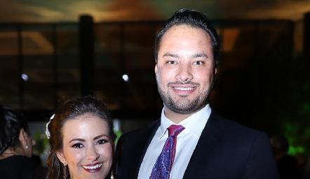 Laura Cadena y Rodrigo Alcalde.