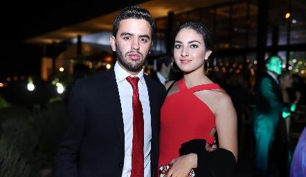 Diego Zepeda y Ana Martha Ocaña.