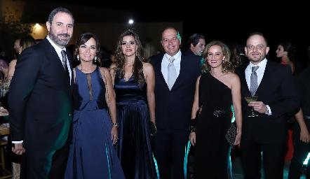 José Antonio Mahbub, Elsa Tamez, Yezmín Sarquis, César Morales, Romina Madrazo y Saad Sarquis.