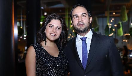 Valeria Siller y Rubén Leal.