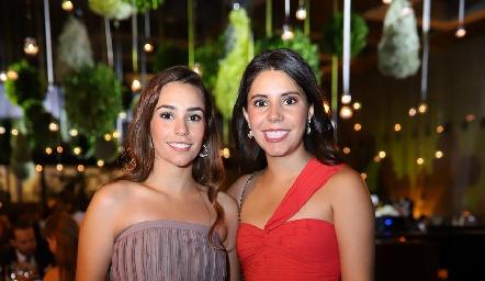 Mary Del Valle e Ilse Lázaro.