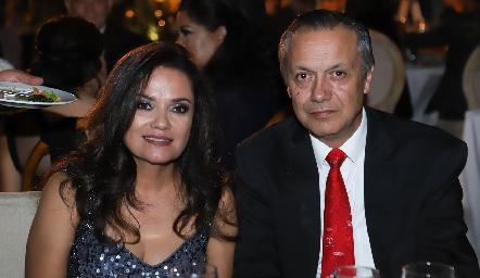 Aída Palau y Mario Pérez.