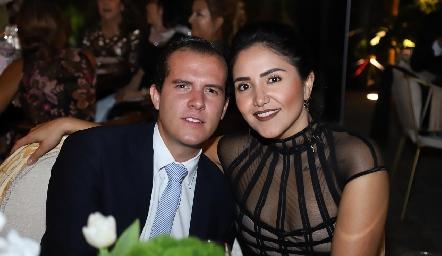 Juan Fer Rojas y Jessica Herrera.