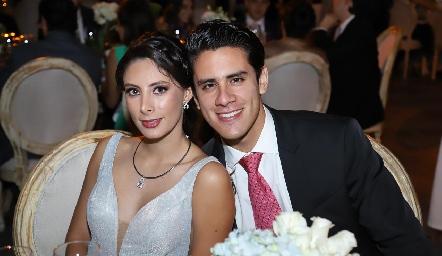 Ana Pau Rojas y Miguel Maciel.