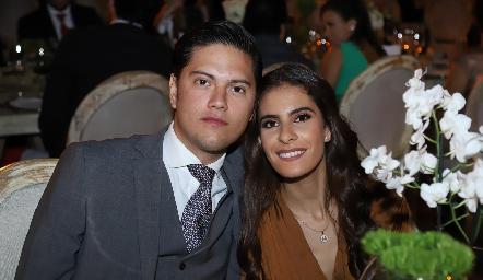 Mauricio Mier y María José Rojas.