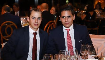 Guillermo Struck y Luis Nicolás.