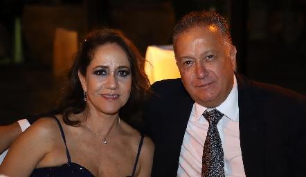 Esther Sandoval y Carlos Nava.