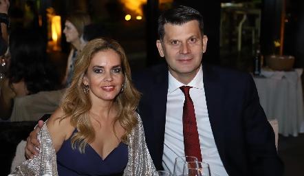 Renata Dip y Héctor Díez Gutiérrez.