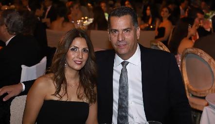María de Lourdes Gil y Sergio Díez Gutiérrez.