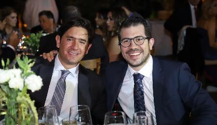 Fernando Abud y Toño Musa.