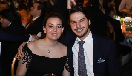 Marisol González y Mateo Beltrán.