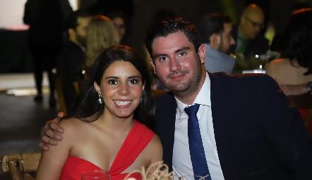 Ilse Lázaro y Polo Córdova.