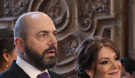 Jeppo Mahbub y Beatriz Rojas.