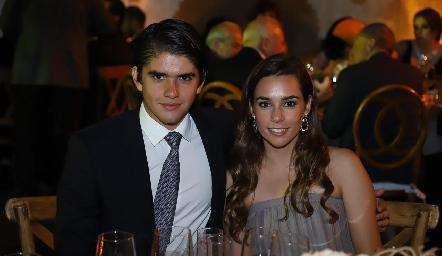 Juan Pablo Leiva y Mary Del Valle.