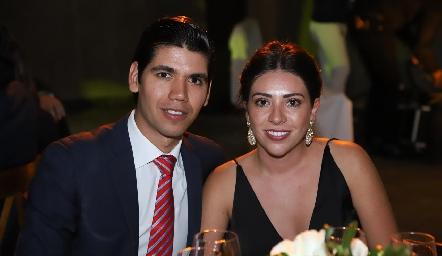 Rafael Tobías y Cristy Lorca.