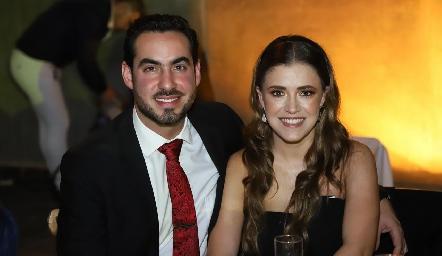 Gerardo Chevaile y María José Hernández.