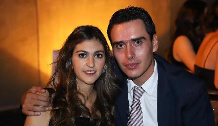 Patricia Gómez y Xavier Azcárate.