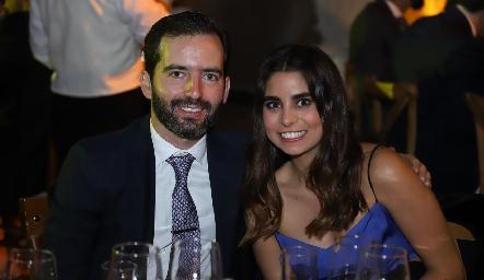 Joaquín Olmos y Rocío de la Vega.