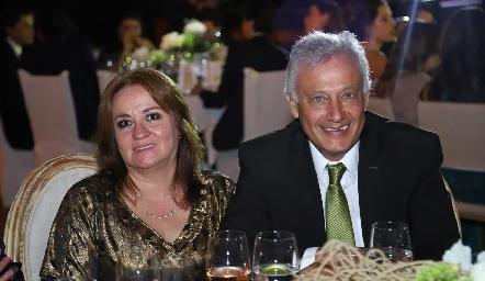 Alicia de los Santos y Manuel Rosillo.