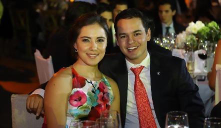 Valeria Herrera y Luis González.