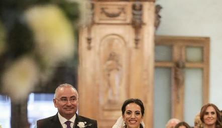 Roberto y Alejandra Zepeda.