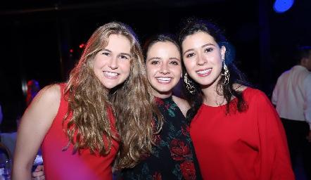 Inés García, Regina Meade y Montse Del Valle.