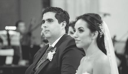 José Carlos Mahbub y Alejandra Zepeda.