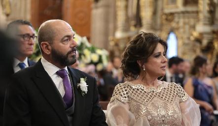 Jeppo Mahbub y Maru Martínez de Mahbub.