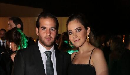 Samer Medlich y Bárbara Mahbub.