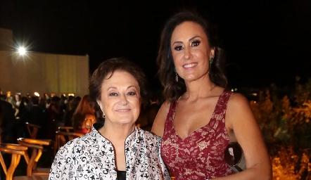 María Teresa Espinosa y Verónica Zepeda.