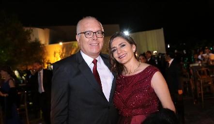 Alfonso y Cecilia Rojas.