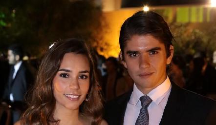 Mary Del Valle y Juan Pablo Leiva.