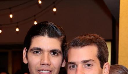 Rafa Tobías y Pablo Zendejas.