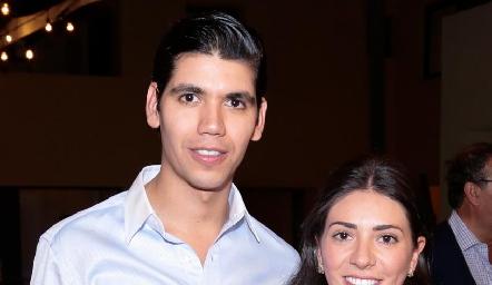 Rafa Tobías y Cristy Lorca.
