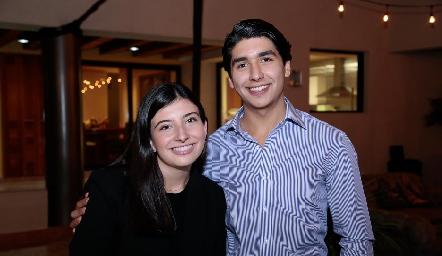 Ana Paula García y  Miguel Tobías.