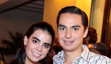 Marily Tobías y Emilio Payán.
