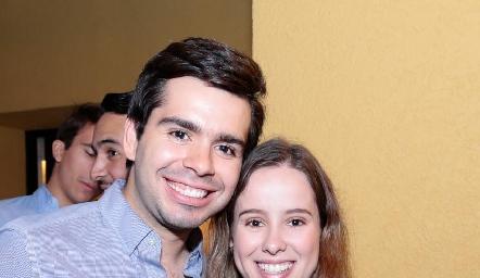 Rodrigo Pérez y Ana Lucía Esparza.
